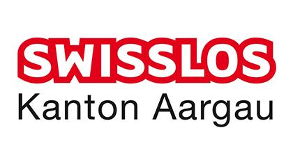 Logo des Goldsponsors «Swisslos Fonds Kanton Aargau»